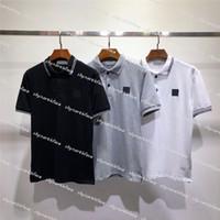 2020 جديد المصممين تي شيرت رجالي بولو قميص فاخر الزى الصيف تي شيرت الرجال تي شيرت أزياء المرأة الملابس بولو الأعلى تيز