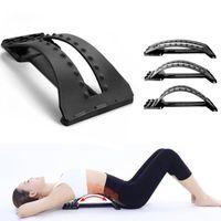 Back Massager Stronger Fitness Apoyo lumbar Soporte de cintura Columna escolta Alivio