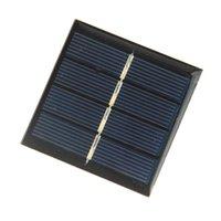 Buheshui 0.45W 2V мини-солнечный модуль модуля поликристаллической солнечной панели DIY солнечное зарядное устройство 58 * 58 * 3 мм 10 шт. / Лот бесплатная доставка