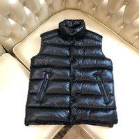Lüks Tasarımcılar Giyim Kış Moda Siyah Sıcaklık Yelek Mens Ceketler Kadınlar Denim Yelek Bayanlar Ceket Yüksek Kaliteli Ücretsiz Teslimat
