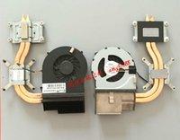 Cojín de enfriamiento de la computadora portátil Refrigerador / ventilador de disipador de calor Ajuste para Pavilion DV6-3000 DV7-4000 622033-001 KSB0505HA 9J99 5V 0.38A Radiador CPU