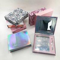 Wholesale livre avec des cils Eyeliner Tweezer Glitter Boîte d'emballage dramatique personnalisé Logo privé Beauty Set Livre
