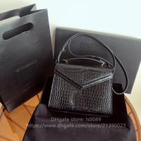 Lüks Tasarımcı Moda Sıcak Satış Yüksek Kalite Hakiki Deri Bayanlar Mini Omuz Çantası Messenger Çanta 24 cm Ücretsiz Kargo