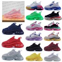 2021 Üçlü S Baba Ayakkabı Trialler Bigsized Sneaker Platformu Temizle Yastık Sole Scarpe Bayan Zapatos Mens Zapatillas Sneakers 36-45 Tzenx #