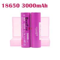 Bestfire autêntico 3000mAH 40A 18650 Cor rosa da bateria recarregável Vape de lítio bateria Máxima descarga 40A Vape Mod Bateria