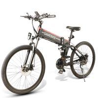 DeconBike Lo26 Elektrische Fahrrad 48V 350W Zwei Räder Elektrische Fahrräder Faltbarer leistungsstarker elektrischer Roller Max Range 80km
