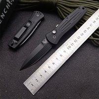 Benchmade côté vitesse couteau automatique BM 3551 automatique automatique EDC tactique de survie Couteau de poche lame 154CM 6061 T6 poignée en aluminium