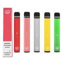 퍼프 바 플러스 800 + 퍼프 일회용 vapes 포드 카트리지 550mAh 배터리 3.2ml 사전 채워진 vape 포드 스틱 퍼프 플러스 휴대용 기화기