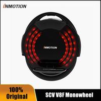 2020 Original Inmotion V8F 외발 자전거 자전거 웨이 웨이 웨이 웨이 웨이 페달 16 'Legpads에 내장 된 Monowheel 1 휠 자기 균형 전기 스쿠터