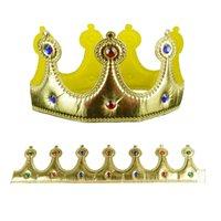 Crown Headwear Детский фестиваль реквизиты королевских коронок голова обруч вечеринка Выполните принцессу королеву диадема орнамент для волос 4 75JD L1