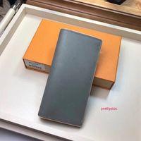 2020 Luxurys Brieftasche für Männer / Frauen Geldbörse Gedruckt Blume Leder Brieftaschen Für Männer Mode Designer Kleine Geldbörsen Kartenhalter Brieftasche mit Kiste