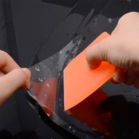 Foshio Car Merci Vinyl Wrap Tool Kit Kit Magnete Squeegee PPF Raschietto in fibra di carbonio Filtro in fibra di carbonio Wrapping Coltello per laminazione ACC QYLGWP