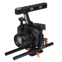 ソニーA7 A7S A7R A7R II A7S II A7RIII A7 IIIパナソニックLumix DMC-GH4のためのPuluzカメラケージハンドルスタビライザー