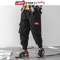 Lappster-Gençlik Erkekler Japon Streetwear Kargo Pantolon 2020 Tulum Erkek Hip Hop Siyah Ter Pantolon Gevşek Baggy Harem Pantolon Joggers X1218