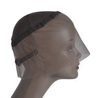 Brown 360 Полный кружевной парик BASE BASE BASE швейцарская кружевная шапка с регулируемыми ремнями и направляющей крышкой кружевной парики для изготовления 360 парик