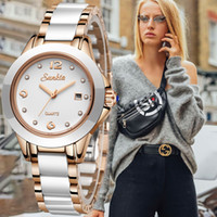 LIGE Brand Sunkta Women Watch supports wholesale ceramic watches ladies fashion waterproof Clock Quartz Relogio Feminino 201119