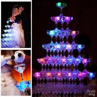 LED Eiswürfel Beleuchtung Polychrome Flash Eis Flüssigkeitssensor Glühende Eiswürfel Tauchbeleuchtung Dekor Light Up Bar Club Hochzeit Party