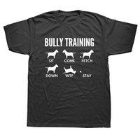 Komik T-shirt Erkekler İngilizce Bull Terrier Tshirt Köpek Baba T Gömlek Güzel Tasarım Giyim O Boyun Streetwear