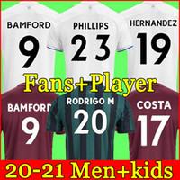 2020 2021 Leeds United 100e anniversaire maillot de football COSTA célèbre le centenaire BAMFORD CLARKE 100 ans hommes enfants maillot de football