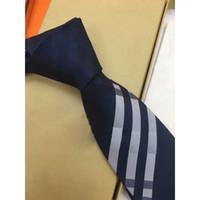 Cravate de soie haut de gamme design de mode de la mode Hommes Business Soie Soie Crouswear Jacquard Crêt de mariage Crêt de mariage QWE