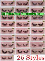 3D Vizon Kirpik Faux Doğal Yanlış Kirpikler 3D Vizon Lashes Yumuşak Makyaj Uzatma Makyaj Sahte Göz Lashes 3D Kirpik Ücretsiz Özelleştirmek logosu