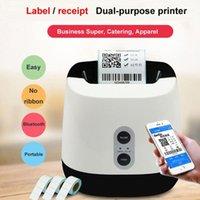 GPRINTER Bluetooth P3 تسمية طابعة الحرارية مناسبة للتجزئة والمطعم لطباعة ملصقا الباركود واستلام 1