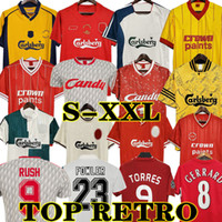 McManaman 04 05 Liverpool LVP Retro Torres Jersey Gerard 1982 Dalglish Camisas Futebol FOWLER 1989 Maillot 06 07 Barnes 08 09 Rush 97 95 96 93 85