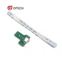 SYYTECH Spare Replace Flexible USB Controller Ribbon Charging HD Port Socket Board JDS-030 + Cable for PS4