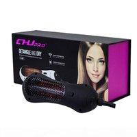 Detangierender Trocknerbürste Detangler Haarbürste Massage Kamm Infrarot Haarpflegebürste Kamm Haartrockner DHL frei