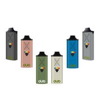 Auténtico Vapes GRANTE G9 DUB Vaporizador para la hierba seca 1100mAh Herbal Vape Pen con tipo C USB Carga de retroalimentación háptica