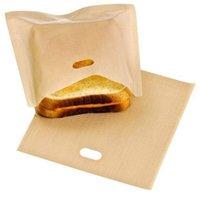 غير عصا كوكي الجرار قابلة لإعادة الاستخدام أكياس محمصة الخبز ساندويتش فرايز أزياء متعددة الأغراض مقاومة للحرارة حقيبة المطبخ الطبخ الملحقات 109 K2