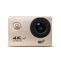 "4K Cámara de acción F60 Allwinner 4K / 30FPS 1080P Sport WiFi 2.0 ""170D Casco Cámara bajo el agua IR A prueba de agua PRO + Exquisite Minor Minor Box"
