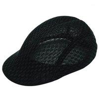 Bereler erkek ve kadın keten sonbahar rahat nefes örgü şapkası erkek kadın moda tasarımı için yüksek kalite1