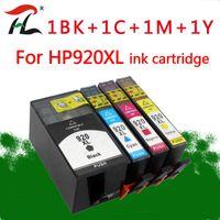 Cartuchos de tinta 4pcs 920 Cartucho compatible para 920xl OfficeJet 6000 6500 6500A 7000 7500 7500A Impresora con chip