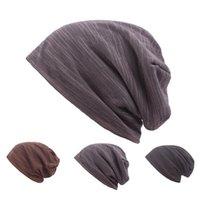 الصوف محبوك قبعة مزدوجة سطح الدفء الدافئة ركوب الدراجات قبعة صغيرة المرأة رجل الخريف الشتاء الأزياء الساخن بيع 10xj m2
