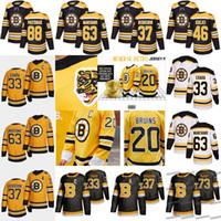 Boston Bruins David Pastrnak Jersey 2021 Reverse Retro Taylor Hall Curtis Lazar Mike Reilly Charlie Coyle Brad Marchand Krejci Tukka Rask Patrice Charia Mcavoy