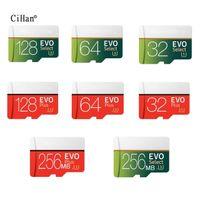 최신 Class10 마이크로 SD 32G 64G SD 카드 128GB TF 카드 무료 어댑터가있는 메모리 카드 Cartao de Memoia 메모리 카드 microSD