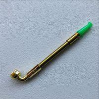 Acessórios para fumar Metal Acessórios Retrátil Longo Haste Cobre Copper Cigarro de Cigarro Plástico Jade Cor Vintage Nova Chegada 2SS G2
