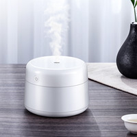 USB Mini Aromatherapy Machine Home Colore Solido Silenzio Acqua Ultrasuoni Strumento di approvvigionamento Acqua Ragazza 220ml Umidificatore umidificatore d'aria Bianco 17 m2