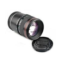 LightDow 85mm F18 Focus fixe Portrait Macro Macro Focus Caméra Lentille pour caméras Sony