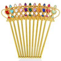 Stick de fées en plastique Stick enfants Masquerade Crown Crown Crown 2 pièces Ensemble Festival enfant Effectuer des accessoires Nouvelle arrivée 3 4XL L1