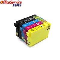Cartucho de tinta compatible T702 T702XL para Workforce Pro WF-3720 WF-3725 WF-3730 WF-3733 Printer1 Cartuchos