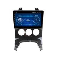1G16G Manuel Klima GPS Bluetooth Müzik Çok fonksiyonlu Akıllı Araba DVD Peugeot 3008 13-18