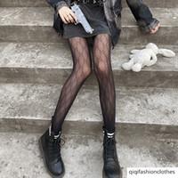 G Lettera Le calze di seta RED INS alla moda Nero pizzo nero Pantyhose Primavera e Autumn Thin's Thins Tube Donne Calzini netti sexy
