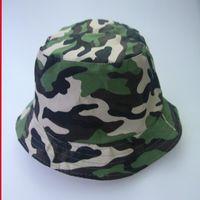 Cloches Kamuflaj Taktik Kap Boonie Şapka Ordu Camo Şapkalar Erkekler Açık Spor Güneş Kova Balıkçılık Yürüyüş Avcılık Kapaklar