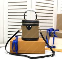 luxurys 디자이너 가방 양동이 가방 칸 숄더 가방 핸드백 totes 핸드백 여자 정품 가죽 지갑 어깨 가방 없음 상자 20112502L