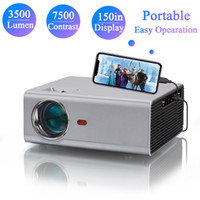 720P HD Portable Mini LED Home Theater Projector 1080P HD Movie Camping Gaming Handy Pico 130 inch Display Support Bedroom Ceiling Projection Screen Mirroring