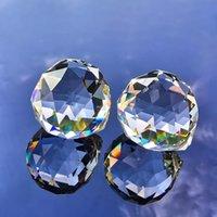 40mm Crystal Baller Crystal Crystal Prisms Suncatcher Cristaux Cristaux Pendentifs Accessoires Bricolage Perle Rideau Suspending Ornament H Jlllzk