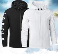 Chaqueta de moda europea y americana para hombre de cuero deportivo delgado blanco y negro S-3XL