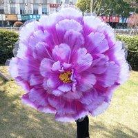 90-100 cm Diaméctre Peônia Flores Artificiais Peônia Guarda-chuva 1 PCS Dancing Adereços Realizando adereços O desempenho leva umbrella1